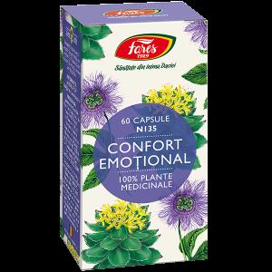 Confort emoțional, N135, 60 capsule, Fares