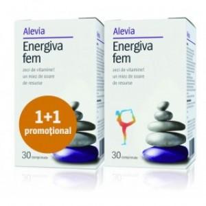 Energiva fem1+1gratis, Alevia, 30cpr