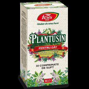 Plantusin, R13, comprimate masticabile, Fares