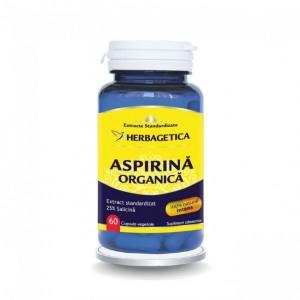 Aspirina organica 60 capsule, Herbagetica