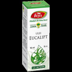 Eucalipt, R19, ulei esențial, Fares