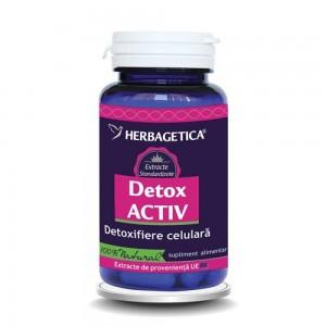 Detox Activ 60 capsule, Herbagetica