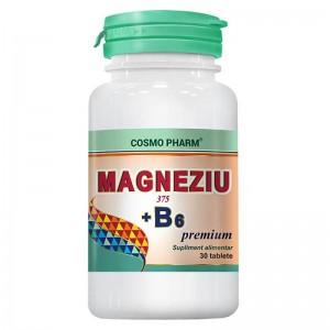 Magneziu + B6, 30 tab, Cosmopharm