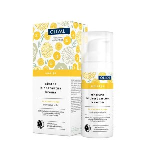 Crema de zi extra hidratanta cu imortele, 50ml, OLIVAL