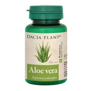 Aloe Vera 60 comprimate, Dacia Plant