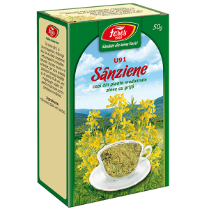 Ceai Sanziene, iarba, U91, vrac 50 g Fares
