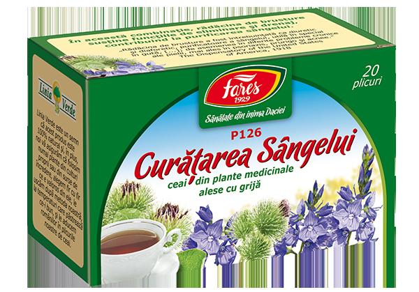 ceaiuri pentru purificarea sangelui