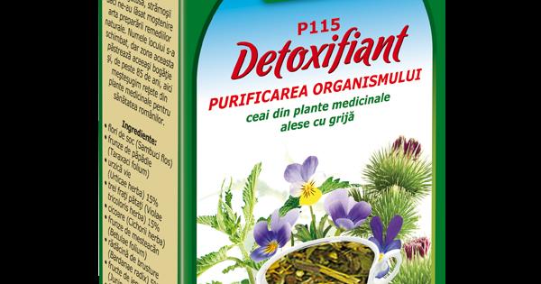 ceaiuri din plante detoxifiante
