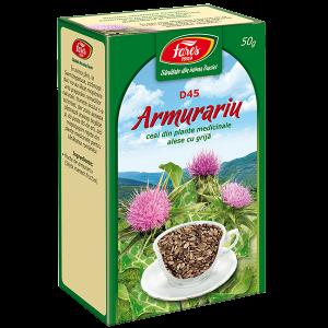 Ceai Armurariu, fructe, D45, vrac 50 g Fares
