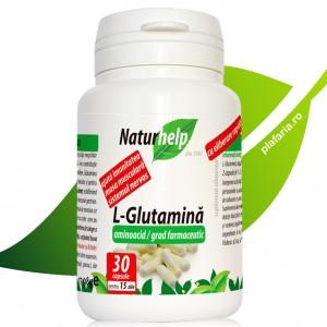 L-GLUTAMINA 30 CAPSULE 500MG NATURHELP
