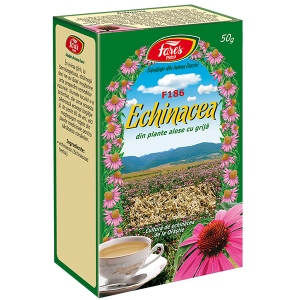 Ceai Echinacea, iarba, F186, vrac 50 g Fares
