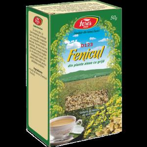 Ceai Fenicul, D123, vrac 50 g Fares