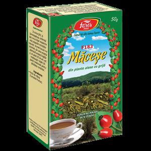 Ceai Macese, fructe, F183, vrac 50 g Fares