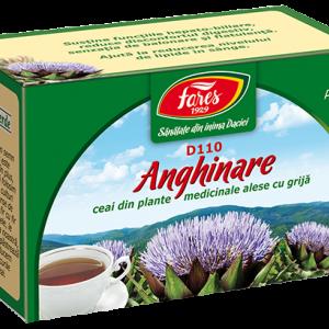 Ceai Anghinare, frunze, D110, 20 plicuri Fares