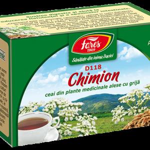 Ceai Chimion, fructe, D118, 20 plicuri Fares