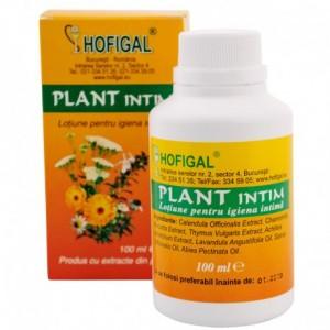 Plant Intim, lotiune pentru igiena intima, 100 ml, Hofigal