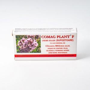 Comag Plant F crema solida (supozitoare), 10x1.5G, Elzin Plant