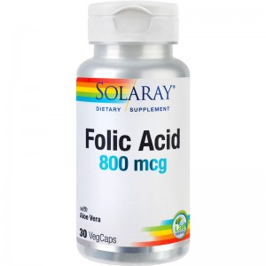 ACID FOLIC 30 CPS, SECOM
