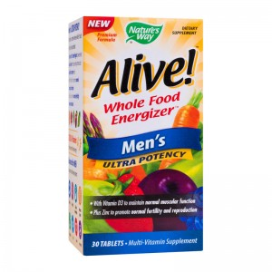 ALIVE MEN'S ULTRA 30 TABLETE, SECOM