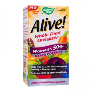 ALIVE WOMEN'S 50+ ULTRA 30 TABLETE, SECOM