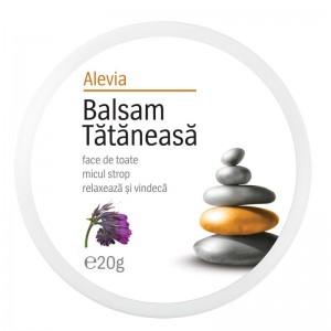Balsam tataneasa, 20g, Alevia