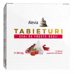 Ceai de fructe rosii Tabieuturi, 12 plicuri, Alevia