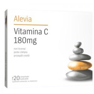 Blister Vitamina C, 180 mg, 20 cpr, Alevia