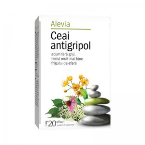 Ceai antigripol x 20 plicuri (cod nou) Alevia