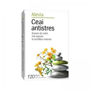 Ceai antistres x 20 plicuri (cod nou), Alevia