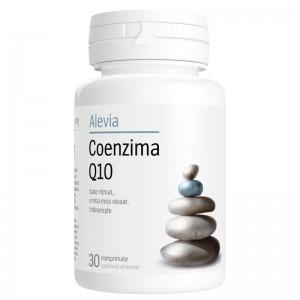 Coenzima Q10 10 mg, 30 cpr, Alevia