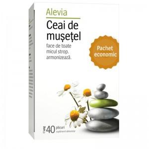 Ceai de musetel x 40 plicuri (cod nou), Alevia