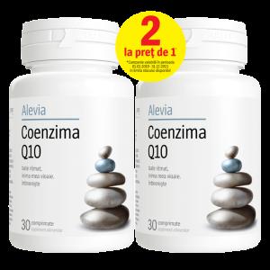 Coenzima Q10 10 mg, pachet 30+30 cpr, Alevia