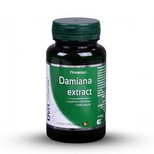 Damiana Extract 60cps, DVR Pharm