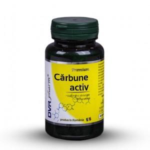 Carbune Activ 60cps, DVR Pharm