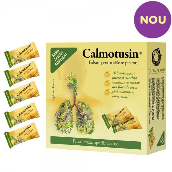 Calmotusin drops cu miere si eucalipt 20 (buc), Dacia Plant