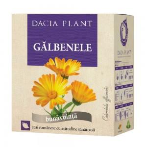 Ceai de galbenele, vrac 50 g, Dacia Plant