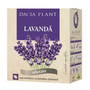 Ceai de lavanda, vrac 50 g, Dacia Plant