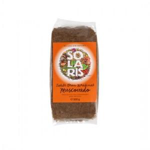 Zahar brun nerafinat Muscovado 500g, Solaris Plant