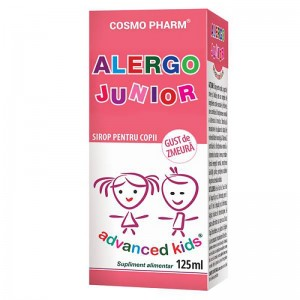 Advanced Kids, Sirop Alergo Junior, 125ml, Cosmopharm
