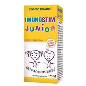 Advanced Kids, Sirop Imunostim Junior, 125ml, Cosmopharm