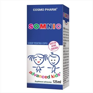Advanced Kids, Sirop Somnic, 125ml, Cosmopharm