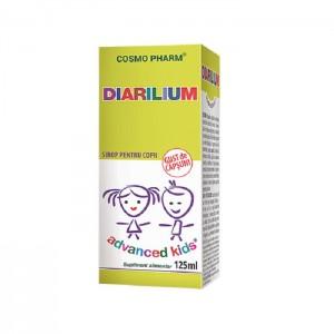 Advanced Kids, Sirop Diarilium, 125ml, Cosmopharm