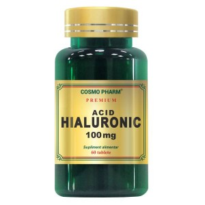Acid Hialuronic, 100mg, 60cpr, Cosmopharm