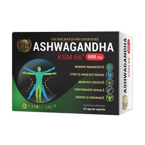 Ashwagandha KSM-66, 30cps, Cosmopharm