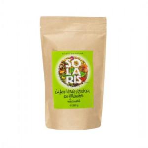 Cafea Verde Arabica cu Ghimbir macinata 260g, Solaris Plant