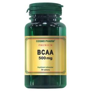 BCAA, 500mg, 30 tablete, Cosmopharm