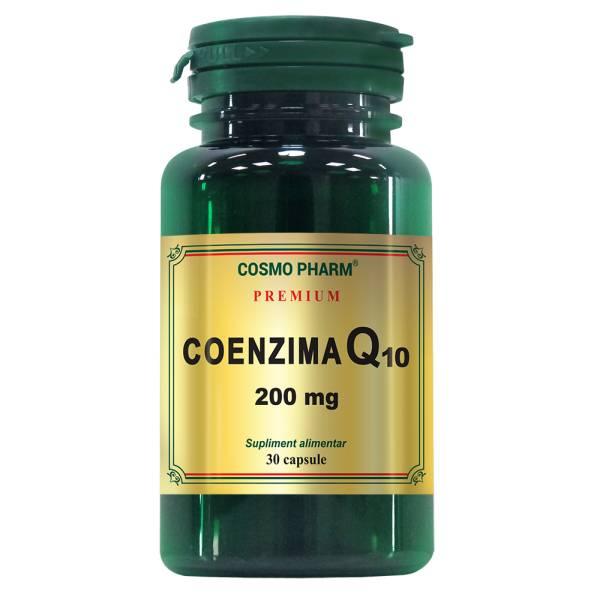 Coenzima Q10, 200mg, 30 capsule, Cosmopharm