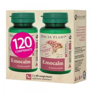 Emocalm 60 comprimate, 1+1 gratis, Dacia Plant