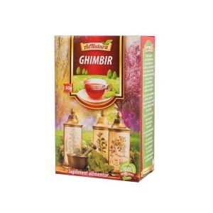 Ceai de Ghimbir, 50 gr, AdNatura