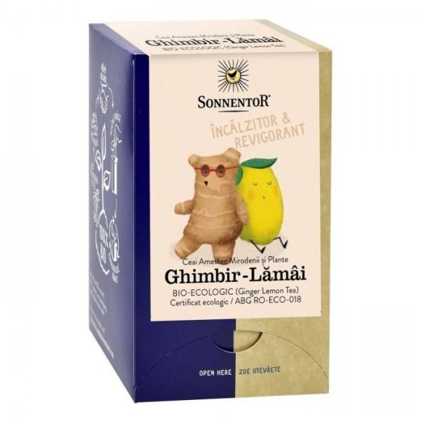 Ceai Ghimbir - Lămâi Eco 18dz, Sonnentor